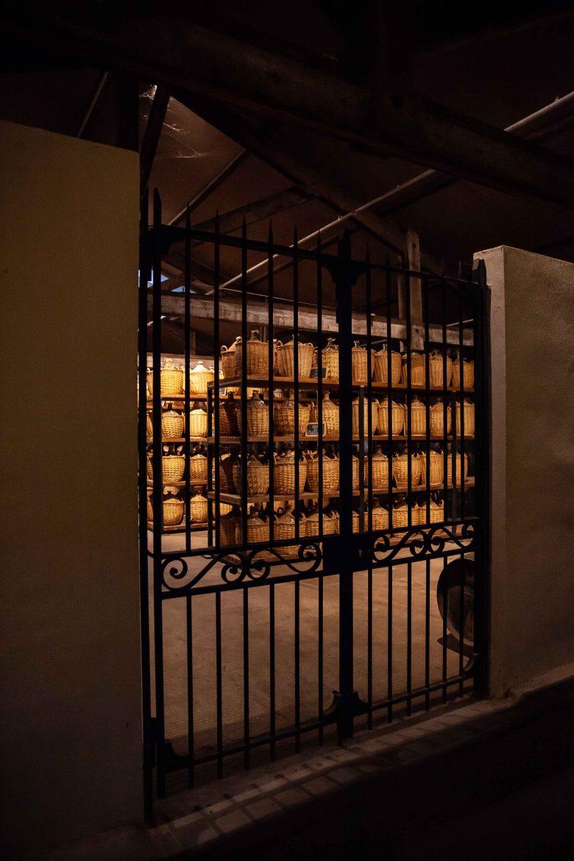 Le Paradis des chais Hennessy, où sont conservées les plus vieilles eaux-de-vie
