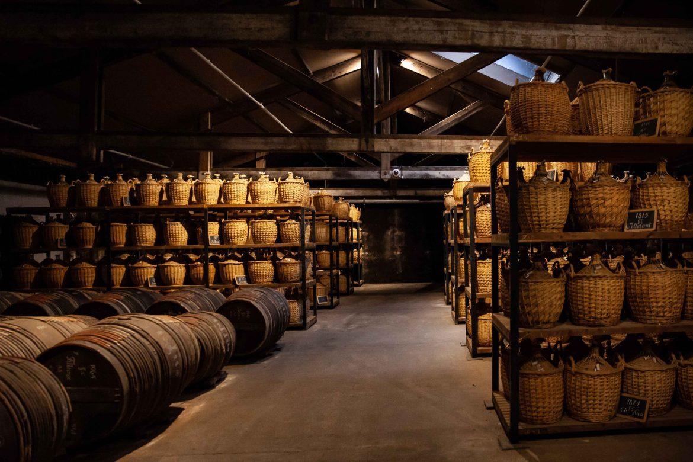 Le Paradis dans les chais Hennessy à Cognac