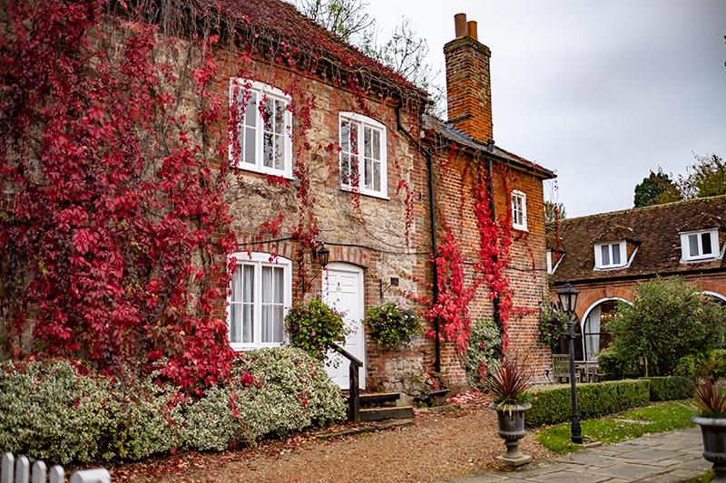 Les écuries de Chilston Park Manor transformée en cottages