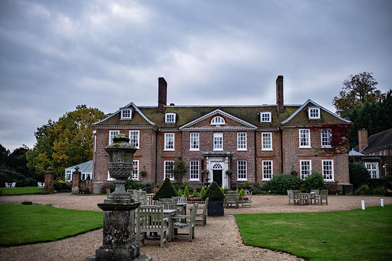 Façade de l'hôtel Chilston Park Country House à Lenham dans le Kent