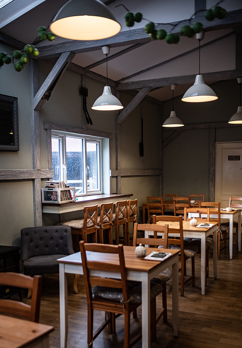 Le tea room de Perry Court Farm Shop
