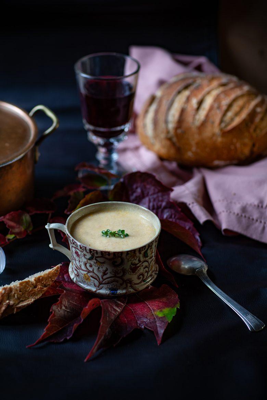 Ma recette de soupe velouté de poulet sans lactose