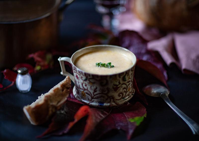 Ma soupe velouté de poulet sans lactose la recette facile