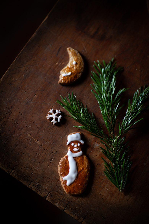 Bonhomme de neige biscuit aux épices facile, la recette