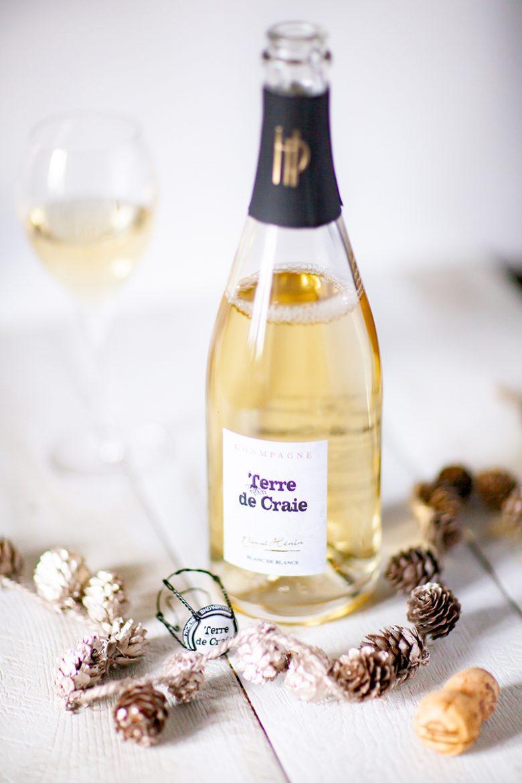 Champagne blanc de blanc Terre de Craie domaine Pascal Hénin
