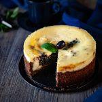 Cheesecake aux olives noires en confiture, recette à base d'Hojiblanca d'Espagne