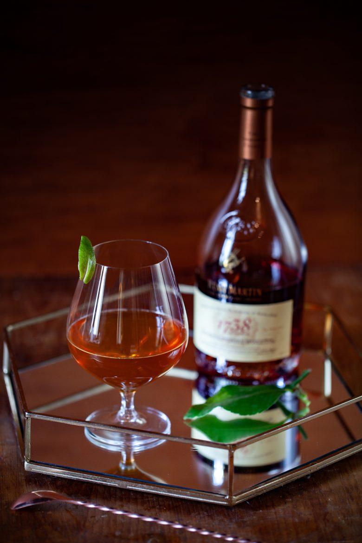 cocktail Bitter Lady Grey au cognac fine de champagne Rémy Martin 1738