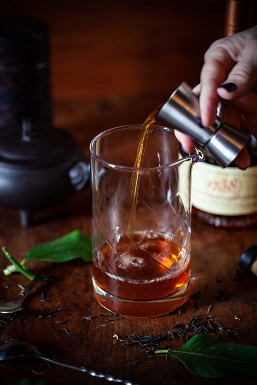 Cignac 1738 Remy Martin dans le thé chaud