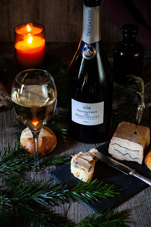 Crémant de Bordeaux Tentation par Maucaillou