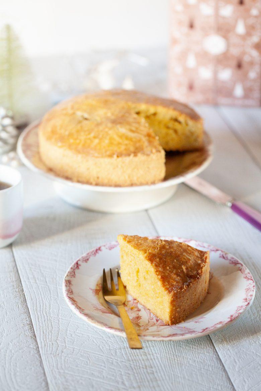 Ma recette de gâteau breton, peu sucré et moins de beurre mais pur beurre salé