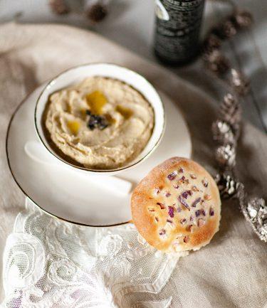 Ma recette de pain de mie vegan à l'huile d'olive de Corse et aux oignons doux