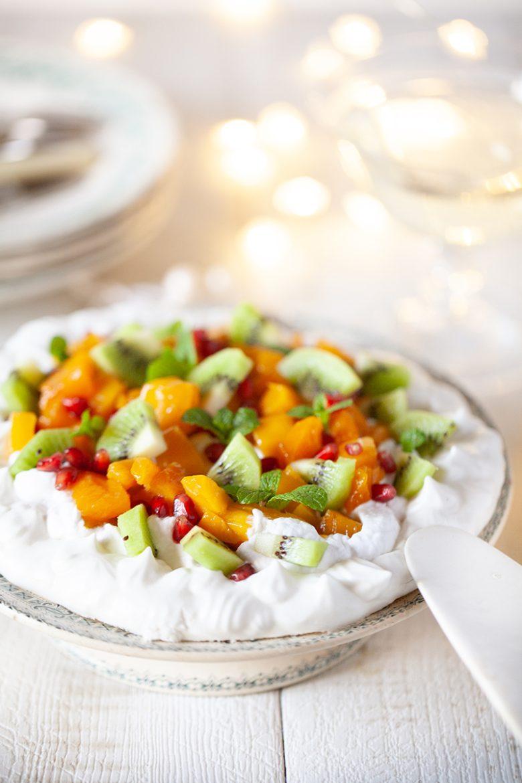 Ma recette de Pavlova végétale aux fruits exotiques