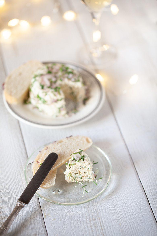 Ma recette de fromage frais vegan ail, échalotes-fines herbes