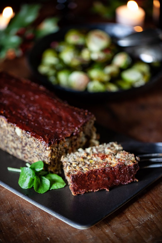La recette du pain de viande sans viande, vegan meatloaf ou pain de lentilles sauce barbecue