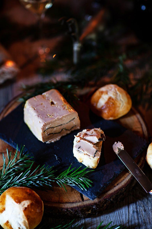 Tartine de pain viennois au foie gras truffé Montfort, la recette