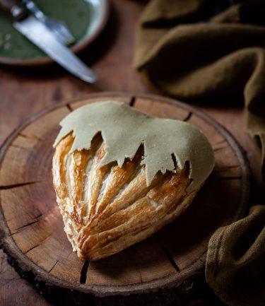 Ma recette de galette en forme de noisette, fourrée à la frangipane aux noisettes torréfiées