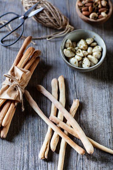 Ma recette des gressins ou gressini simple et facile