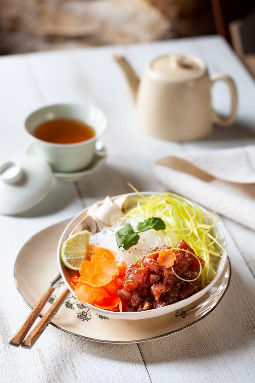 La recette du poke bowl au thon
