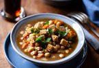 Ma recette de carbonade végétale aux pois chiche, bière et pain d'épices comme la carbonade flamande vegan