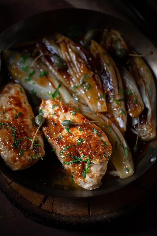 Escalopes de poulet caramélisées au citron et à l'ail, la recette avec des escalopes de poulet
