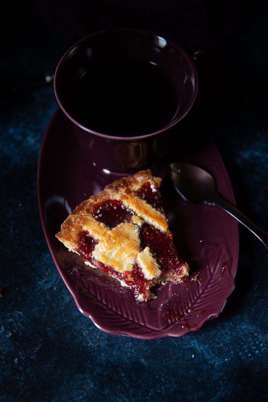 Linzertorte ou recette de tarte autrichienne ou allemande à la confiture