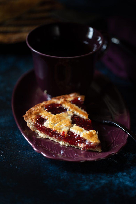 Tarte à la confiture ou linzer torte