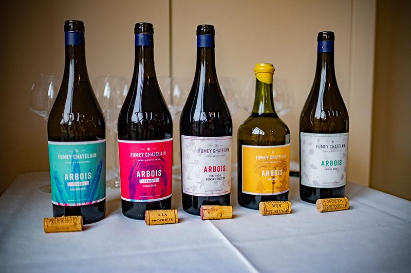 Les vins du domaine Fumey-Châtelain