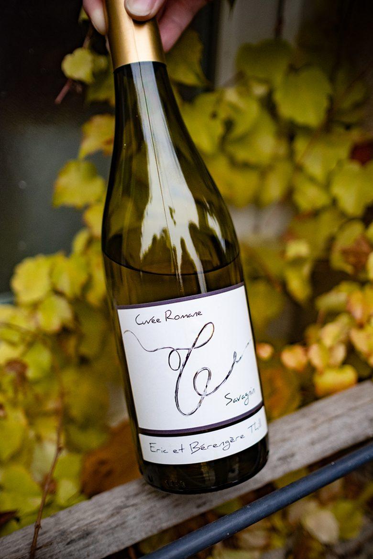 Bouteille de vin blanc de Savagnin du Domaine Thill