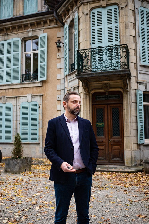 Gabriel Dietriech, le Directeur Général de la Fruitière Vinicole d'Arbois