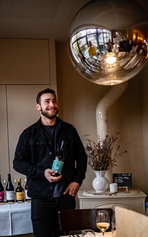 Marin Fumey du domaine Fumey-Chatelain nous présente ses vins