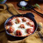 Ma recette de boulettes de viande, comment réaliser des boulettes de viande, en sauce tomate et gratinées à la mozzarella