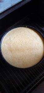 Gâteau pommes caramel coco Enfourner à 160°C pendant 1 heure