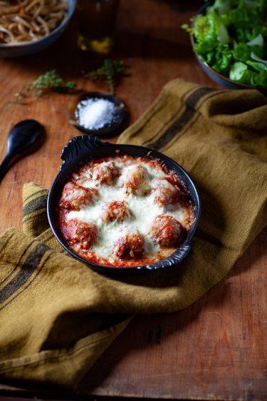 Recette de boulettes de viande à la tomate et à la mozzarella
