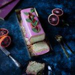 Recette de cake rose aux oranges sanguines
