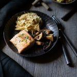 Ma recette de saumon à la réglisse et céleri rémoulade au gingembre