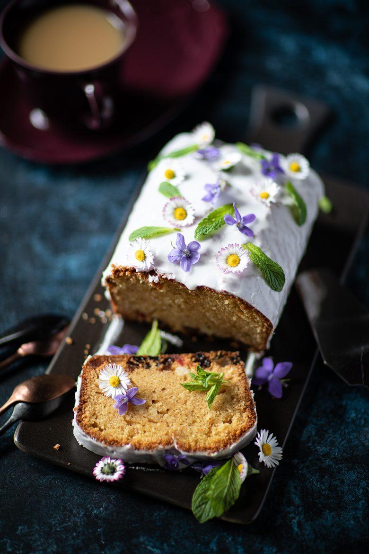 Ma recette du cake au yaourt, au rhum et aux raisins