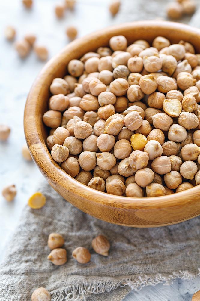 Comment cuire les Pois chiches grains secs dans un bol