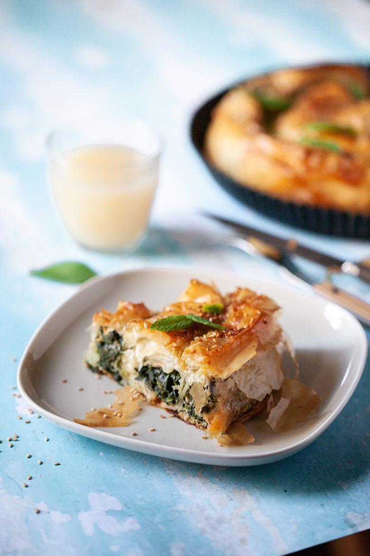 Recette de börek aux épinards et au fromage de chèvre