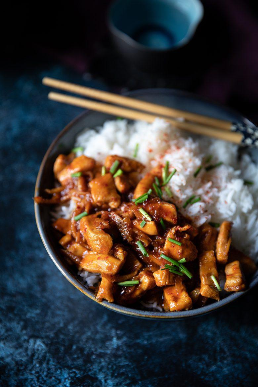 Ma recette de poulet au gingembre frais caramélisé