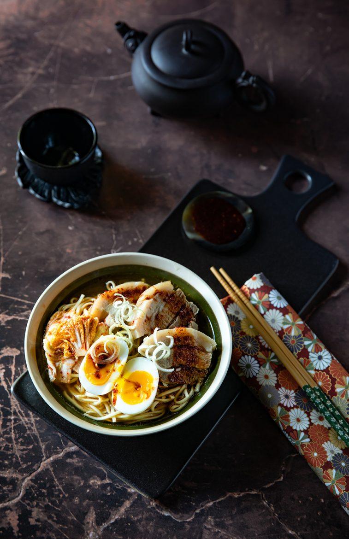 Ma recette de ramen au porc et oeuf mollet, les ingrédients pour réaliser ce plat japonais