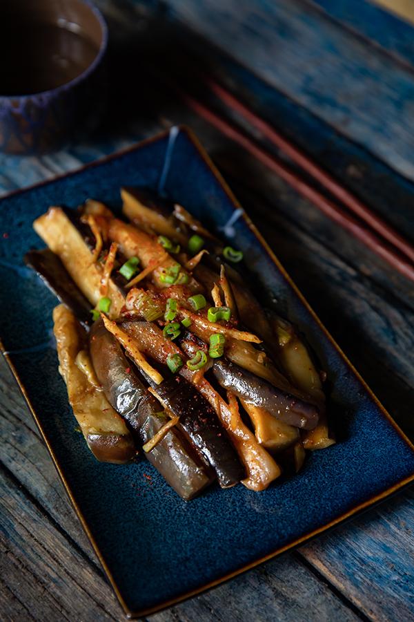 Ma recette des aubergines sautées au gingembre à la chinoise