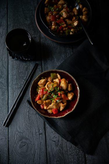Recette chinoise de poulet à l'ananas sauce aigre-douce