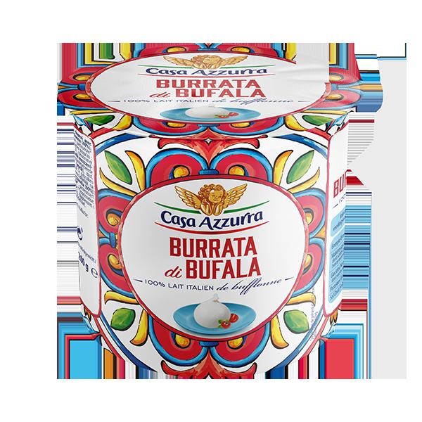 Burrata di Buffala Fior di Latte de Casa Azzurra