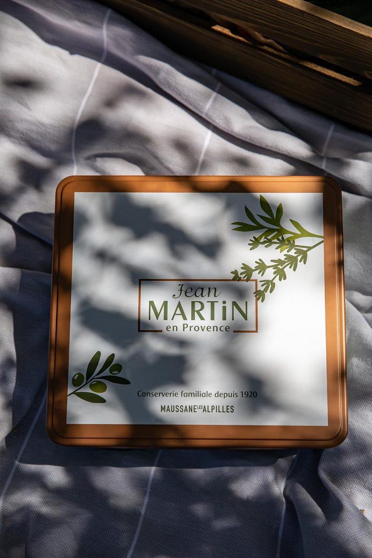 Couvercle du coffret anniversaire 100 ans Jean Martin