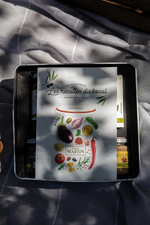 Livre recettes du coffret anniversaire Jean Martin 100 ans