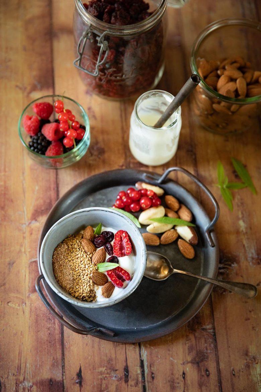 Ma recette de bol yaourt graines healthy pour le petit déjeuner keto