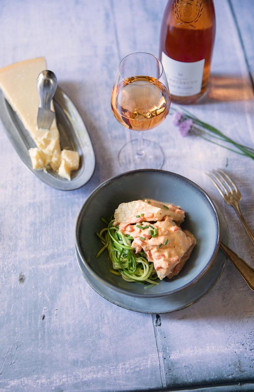 Mon poulet au mascarpone, une recette facile et compatible régime cétogène ou keto