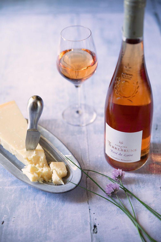 Rosé de Loire du Domaine de Terrebrune