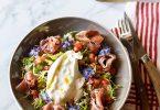 Ma recette de salade italienne à la burrata et au jambon de Parme