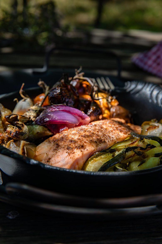 Le sumac sur le saumon, un délice. La recette su saumon au sumac.